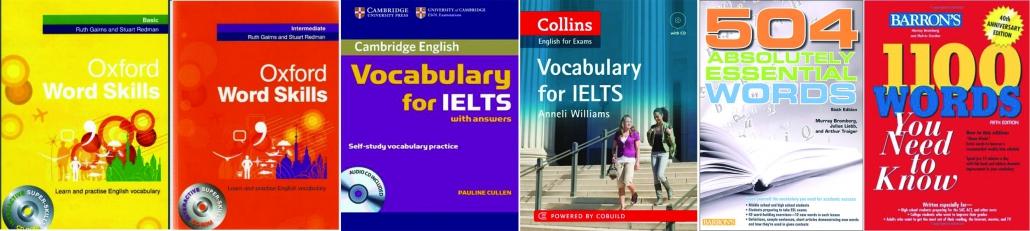 بهترین منابع لغت آیلتس | IELTS Vocabulary